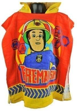 02fde27a1e Ex-Chainstore Fireman Sam Hooded Poncho Towel Boys Kids Ex-G—-e Store.  £2.95 per item