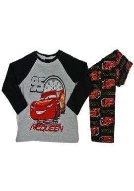 32d31c8bab Ex-Chainstore Black Grey Long Sleeve Cars Lightning Mcqueen Boys Kids  Pyjamas Ex-P—–k Store. £2.95 per item