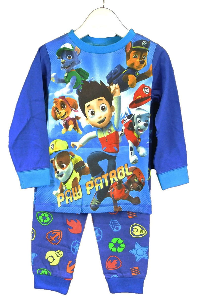 Boys Paw Patrol All in One Sleep Suit Pyjamas Age 18-24 Months