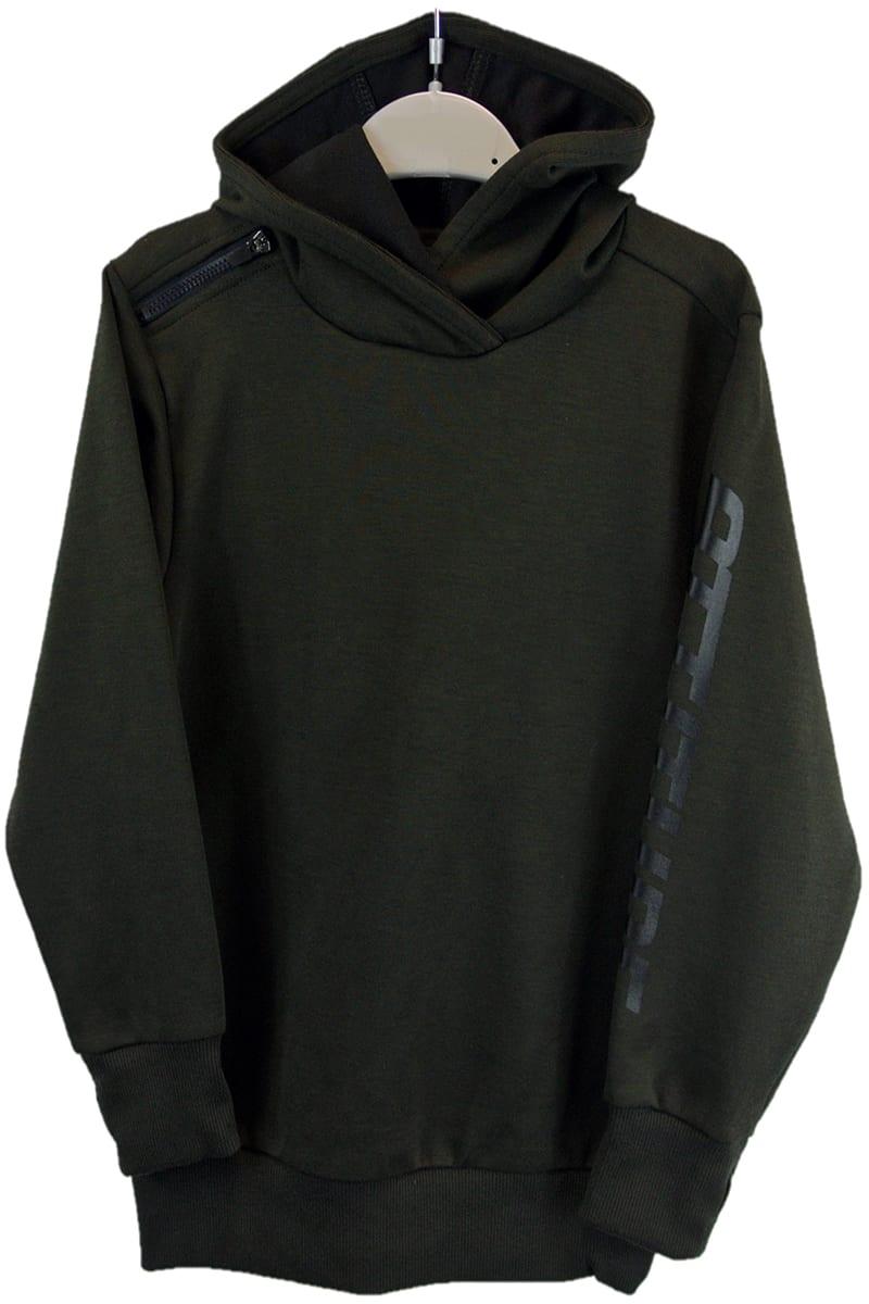 13530912a Ex-Chainstore Khaki Green Boys Kids Hoody Ex-M-n Store. £2.50 per ...